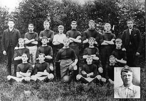 Gloucester Rugby Team in about 1900