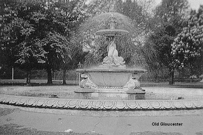 Gloucester Park fountain