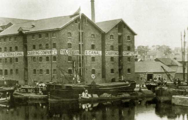 Gloucester Docks in the 1940s