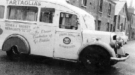 Tartaglias Ice Cream Gloucester 1950s