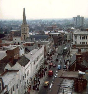 1970north from tower