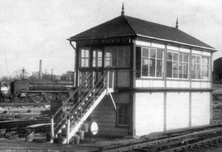 Eastgate passenger signal box.