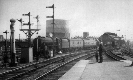 a view from the end of the old Eastgate Platform.