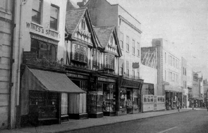 Nothgate Street, Gloucester in the late 1950s