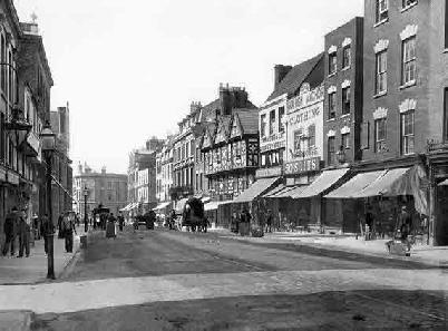 Southgate Street in 1906